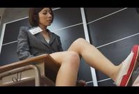 ドS先生のおみ足でイキたい!